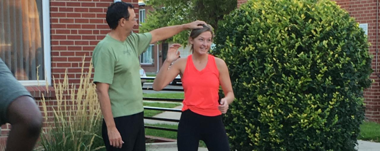 Women's Self Defense Class Begins at The Gardens