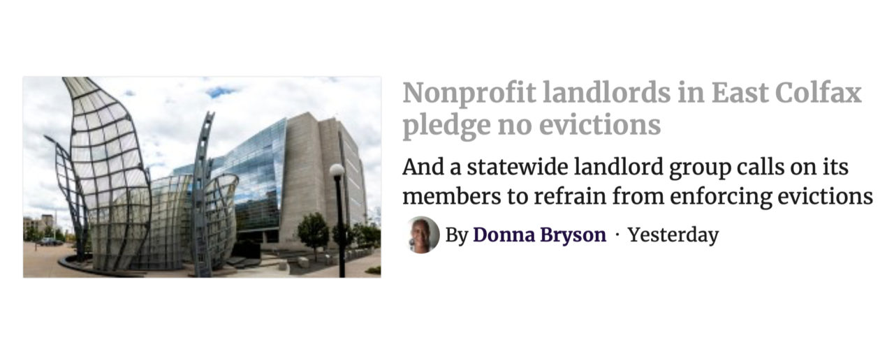 Denverite: Nonprofit Landlords Support Residents in Crisis