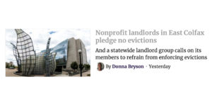 Denverite: Nonprofit Landlords Support Residents in Crisis